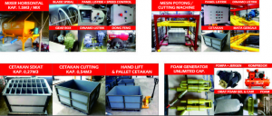Jual paket mesin pembuat Bata Ringan CLC (Cellular Lightweight Concrete)